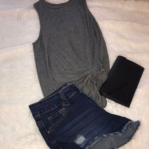 ☀️Wax Jean Shorts